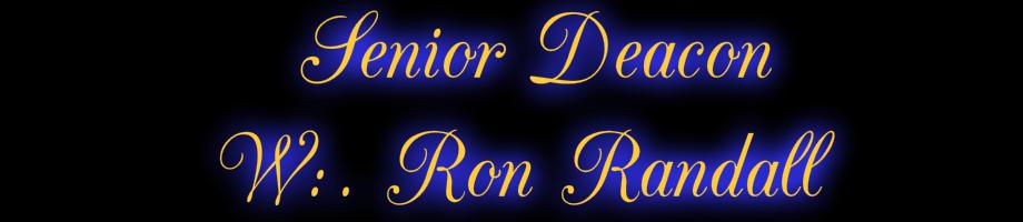 Senior Deacon